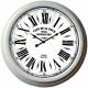Veľké kovové hodiny 58 cm