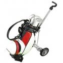 Stojan na perá v tvare golfového vozíka s perami