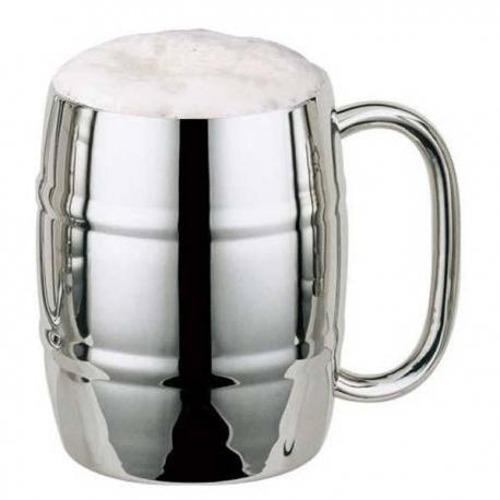 Nerezový hrnček na pivo