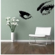 Dekoratívna nálepka na stenu  EYES Audrey Hepburn