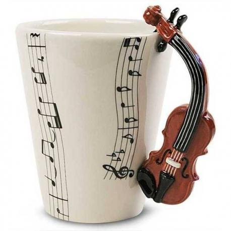Husľový hrnček pre hudobníka