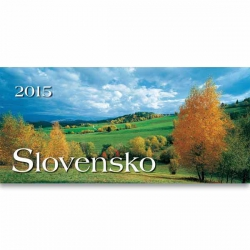 Stolový stĺpcový kalendár Slovensko 2015