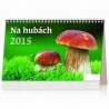 Stolový týždenný kalendár Na hubách 2015