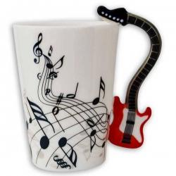 Gitarový hrnček pre hudobníkov