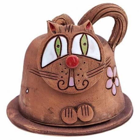 Keramická pokladnička mačička