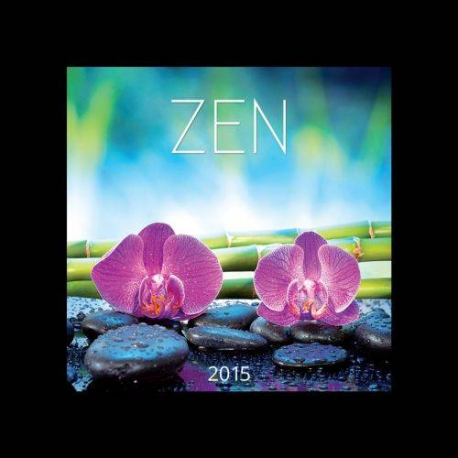 Nástenný kalendár Zen 2015