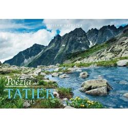 Nástenný kalendár Poézia Tatier 2015
