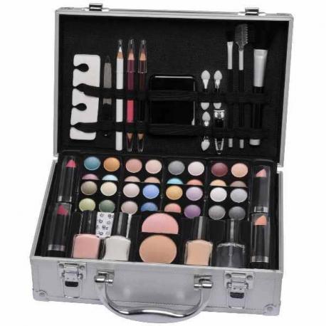 Luxusný kozmetický kufor s vybavením pre ženy