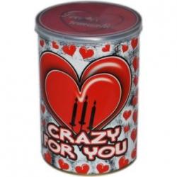 Valentínska krabička Crazy for you