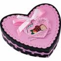 Ružové srdiečko plné čokoládky
