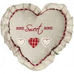Vankúš srdce Home Sweet Home