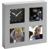 Malý rámik na tri fotografie 7,5 x 7,5 cm do kancelárie