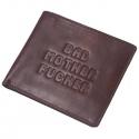 Hnedá kožená peňaženka Pulp Fiction