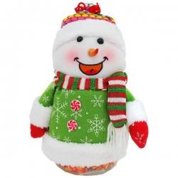 Snehuliačik s cukríkmi vo vnútri