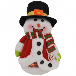 Mikulášsky balíček pre deti - červený snehuliak