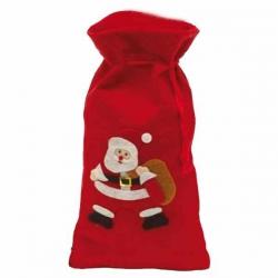 Červené mikulášske vrecko pre deti