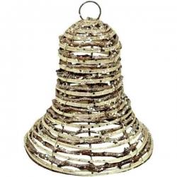 Prútený zvonček vianočný
