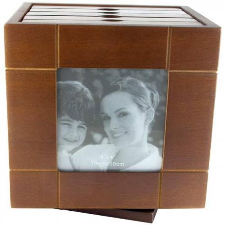 Drevený fotoalbum na 60 fotogfafií
