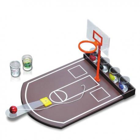 Mini basketball s pohárikmi