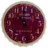 Veľké nástenné hodiny v tvare vrchnáka