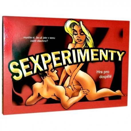 Hra pre dospelých Sexperimenty