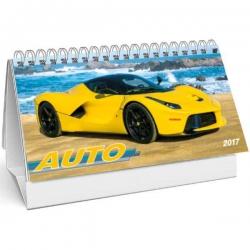 Stolný stĺpcový Auto kalendár 2017