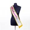 Stuha pre ženy Dámska jazda s certifikátom a korunou