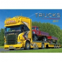 Nástenný kalendár Trucks 2017