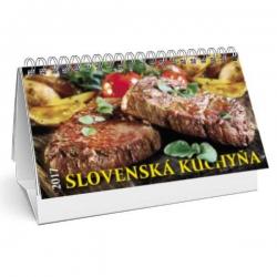 Stolový kalendár Slovenská kuchyňa 2017