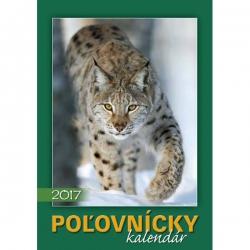 Nástenný poľovnícky kalendár 2017