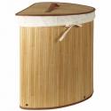 Luxusný bambusový kôš na prádlo