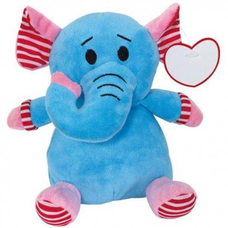 Plyšový sloník so srdiečkom