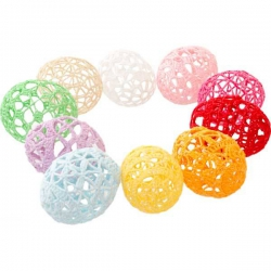 Farebné háčkované vajíčka 10 kusov