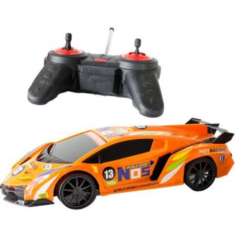 Športový model auta na diaľkové ovládanie Orange