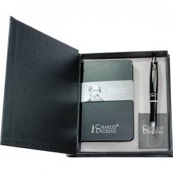 Zápisník s perom Charles Dickens v darčekovom balení