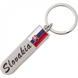 Prívesok Slovensko s kliešťami na strihanie nechtov a pilníkom