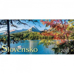 Stolový kalendár Slovensko 2018 stĺpcové