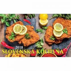 Stolový kalendár Slovenská kuchyňa na rok 2018