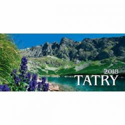 Stolový kalendár stĺpcový Tatry 2018
