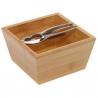 Drevená miska s luskáčikom na orechy