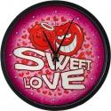 Romantické hodiny Sweet Love