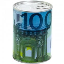 Pokladnička plechovka 100 EUR