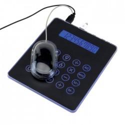 Podložka pod myš s kalkulačkou s USB myškou