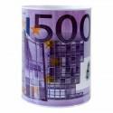 Plechová pokladnička 500 EURO