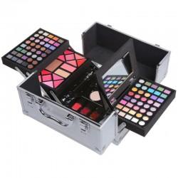 Rozkladací kozmetický kufrík s výbavou pre ženy