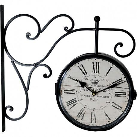 Vonkajšie obojstranné hodiny