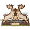 Darček pre poľovníkov jelene s nápisom Lovu zdar