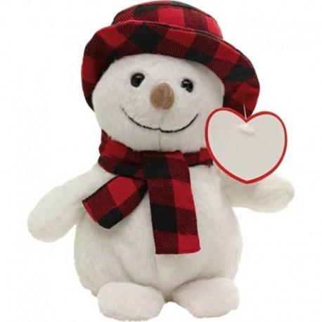 Plyšový snehuliak pre deti