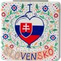 Kozmetické zrkadielko do kabelky pre Slovenky