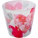 Romantická Valentínska sviečka so srdiečkami